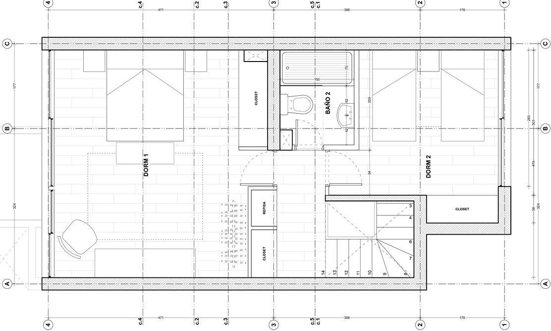 Dúplex Villa Frei 2do piso - Domingo Propiedades